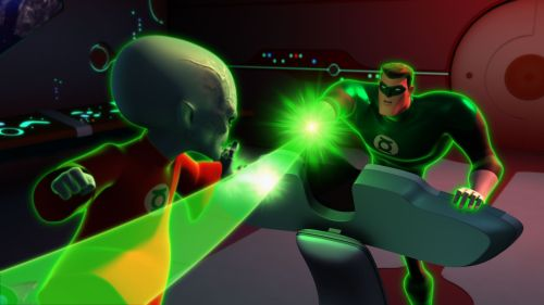 "Green Lantern: The Animated Series ""Scarred"" Episode Description & Images"
