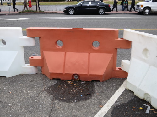 Construction Barrier Monster!