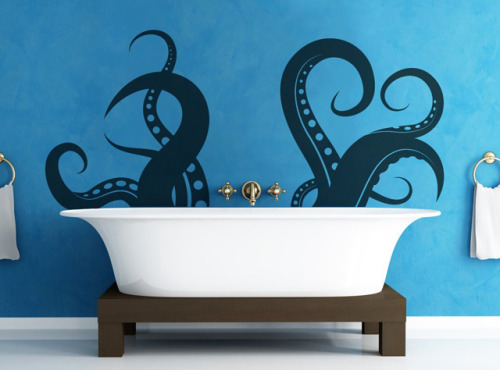 laughingsquid:  Giant Tentacles Vinyl Wall Decal Sticker