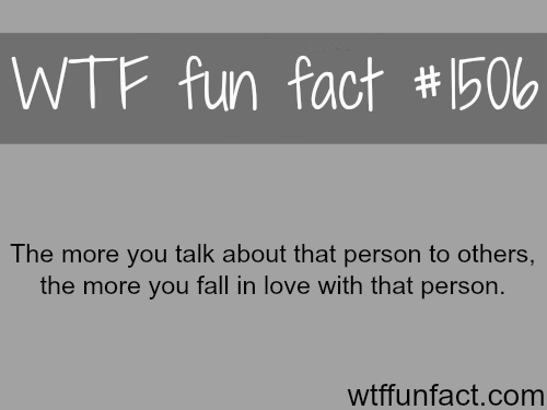wtf-fun-factss:  how to know if you love some one WTF FUN FACTS HOME  /  See MORE TAGGED/ psychology FACTS