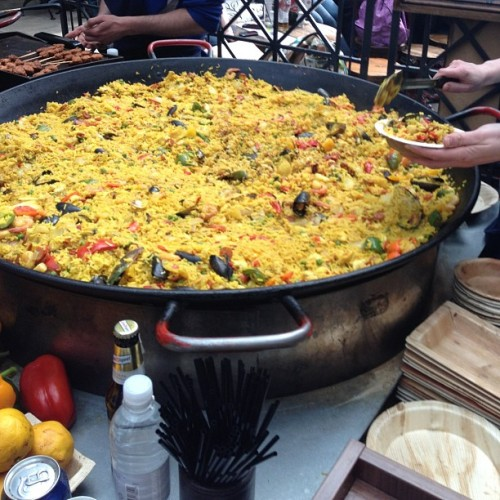 Seafood #paella #coventgarden #london