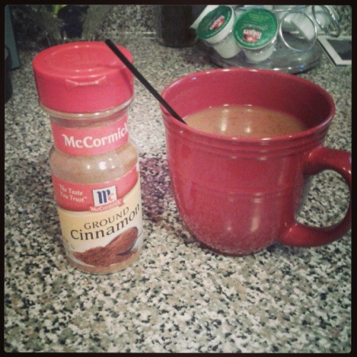 #coffee #cinnamon