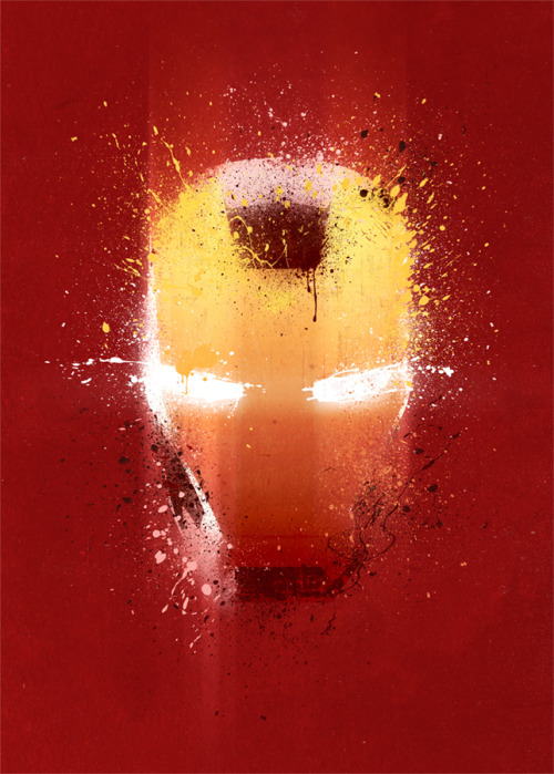 Iron Man inspired 13x19 Abstract Print. Available to buy at my Etsy store.  Find me on Facebook too Thankyou!   ————————get your work featured by submitting it to designersof.com