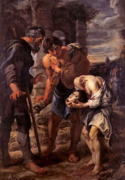 "Peter Paul Rubens ""The Miracle of St.Juste"""