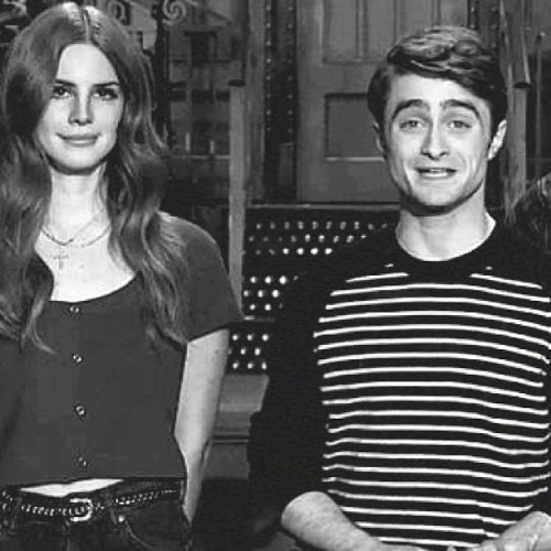 Lana Del Rey and Daniel Radcliffe #lanadelrey #danielradcliffe #love #snl #harrypotter #ride #music #movie