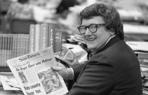 "koenvlecken:  RIP Roger Ebert. NY Times: ""The popular film critic and television co-host who along with his fellow reviewer and sometime sparring partner Gene Siskel could lift or sink the fortunes of a movie with their trademark thumbs up or thumbs down, died on Thursday in Chicago. He was 70.""   Wow…he will be missed :("