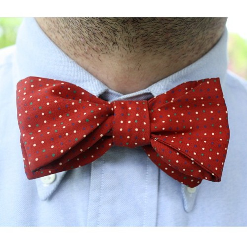 thetieguy:  Vintage bowtie today. #menswear #vintagemenswear #mensfashion #wiwt #wdywt #waywt #ootn #ootd #lookbook #igfashion