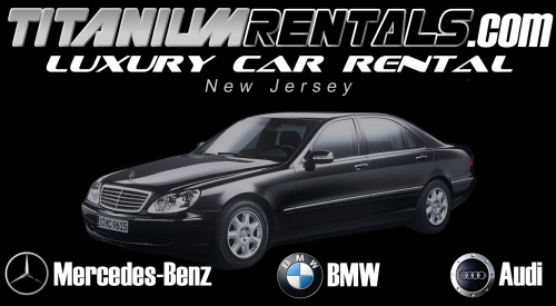 Luxury car rental in New Jersey.  www.TitaniumRentals.com