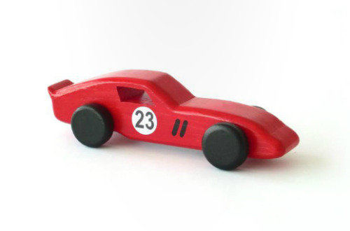 Classics… …are a simple wooden toy collection created by Portugese designer Emanuel Rufo who has been bridging the gap between product design and craft toys since 2001, when with the help of his parents, who are both craftspeople, he began his quest with a dynamic handmade rocking horse.  Since then, he has thankfully expanded his wooden venture into toys with wheels, and he couldn't have picked more classic cars than these. From front to back in the top image; Ferrari 250 GTO, Ford GT40, Porsche 911 Turbo, Lamborghini Miura, Mercedes-Benz 300SL Gullwing. Not sure how you can go about purchasing these, but if they were decently priced, I'd pick up a set for my son. You can check out all Emanuel Rufo's toys here.