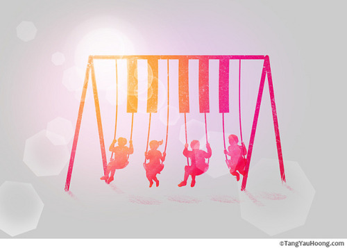 Swing With The Music on Flickr.Tang Yau Hoong: Web | Shop | Facebook | Tumblr | Twitter  | Behance