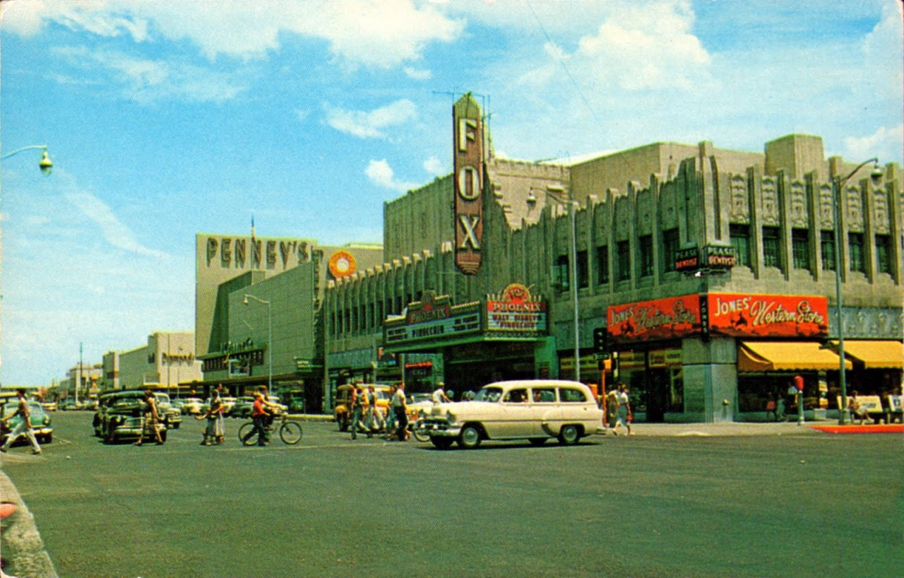 The Fox Theater in 1958, Phoenix