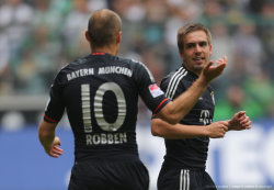 By Jürgen Schwarz-Getty Images 20130518-Bundesliga-Monchengladbach vs. FC Bayern Philipp~ ******************** 右边太美。。。
