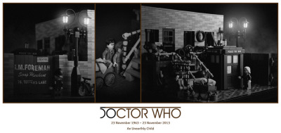 thetardis:  Lego - Unearthly Child by Zenomurphy
