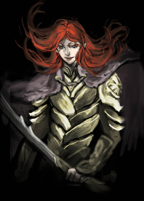 markedasinfernal:  Maedhros the Tall, by lilithran
