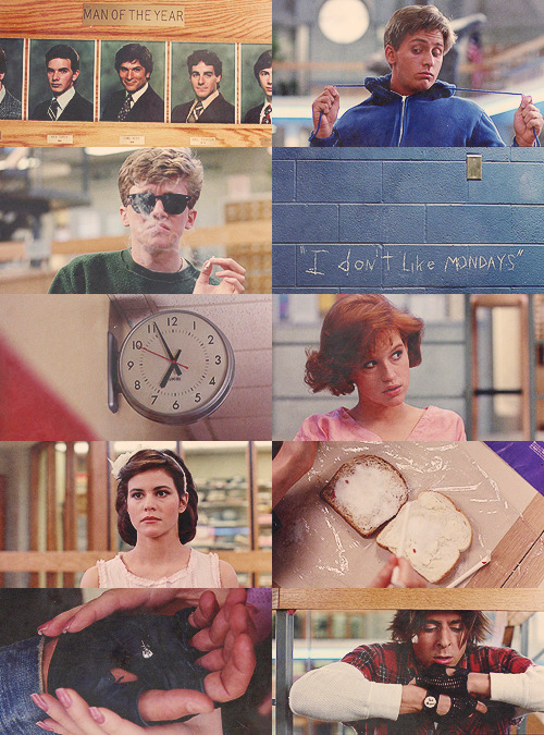 The Breakfast Club, 1985.
