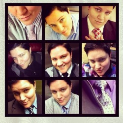 Day 19: I am… (A silkybutch!) #silkybutch #dapper #gay #lesbian #handsome #queer #ties #butch #boi