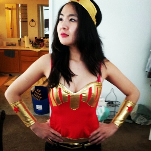 nessiesue92:  It's not a costume. It's my uniform! #wonderwoman #comics #cosplay
