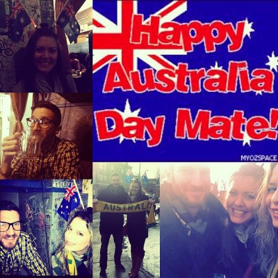 #Happy #AustraliaDay #celebrations in #Toronto #Canada with #downunder #mates  @msmonty16 @jfatrock !!! Missed you @KayeyElle !!!!