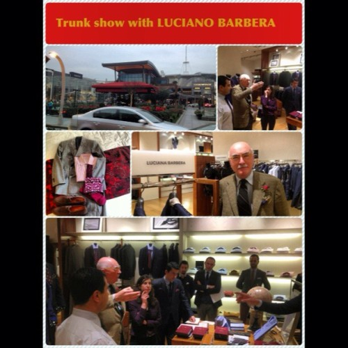 #lucianobarbera #trunkshow #turkey #suit #fashion #handmade