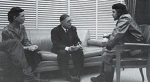 Beauvoir, Sartre y Guevara