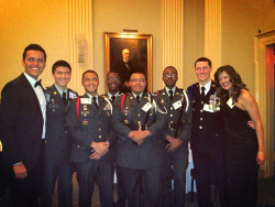 Last night I was so honored to sing for the West Point Society's Founders Day dinner at the Union League Club in NYC. Here I am pictured with my amazing accompanist Justin Figueroa and students/color guard from Xavier High School. It was incredible to listen to General Richard A Cody speak. Please support  your troops. They sacrifice so much.