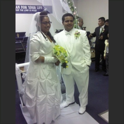 My cousin and his beautiful wife!!! Love them<3