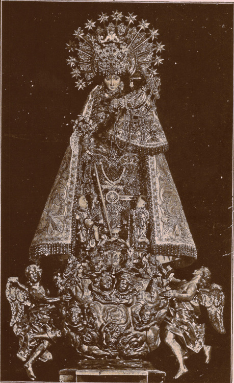 Nuestra Señora de los Desamparados— Our Lady of the Abandoned, Patroness of Valencia, Spain.