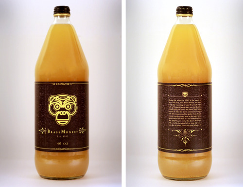 rawbdz:  Brass Monkey 40oz Bottle Design - Rodney Manabat  http://cargocollective.com/rodneymanabat/Brass-Monkey