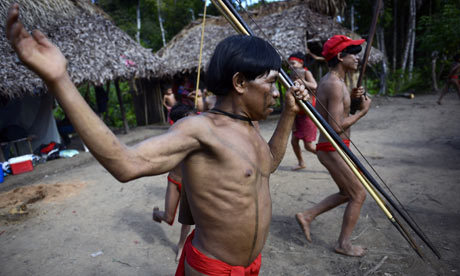 Amazon rainforest tribe at centre of new cultural storm - New book by outspoken US anthropologist inflames arguments over Yanomami Indians -  It became one of the fiercest scientific arguments in recent times: are the Yanomami Indians of the Amazon rainforest a symbol of how to live in peace and harmony with nature or remnants of humanity's brutal early history? Now a debate that has divided anthropologists, journalists, human rights campaigners and even governments has been given a fresh burst of life by the publication of a lengthy memoir by outspoken US anthropologist Napoleon Chagnon. Chagnon has spent decades studying and living with the Yanomami (also known as the Yanomamö) and wrote the best-selling – and hugely controversial – Yanomamö: The Fierce People. In that book, which came out in 1968, he portrayed the 20,000-strong tribe, who live in isolated jungle homelands in Venezuela and Brazil, as a warlike group whose members fought and battled each other in near-constant duels and raids. He described Yanomami communities as prone to violence, with warriors who killed rivals far more likely to win wives and produce children. His analysis was criticised as a reductive presentation of human behaviour, seen as primarily driven by a desire to mate and eliminate rivals. Opponents of that view believed the Yanomami were still pursuing a lifestyle dating from mankind's early past, when people lived mostly peacefully in smaller communities, free from modern sources of stress and far more in equilibrium with their surroundings. (via Amazon tribe at centre of new cultural storm | World news | The Observer)
