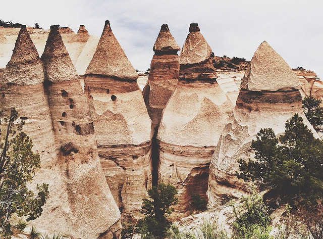 kevinruss:  Kasha-Katuwe Tent Rocks National Monument, NMEditing done by Kate Kipley on Flickr.