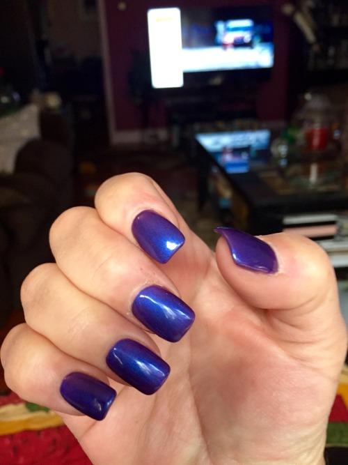 nails nail polish blue nail polish new nails shiny nail polish naillove