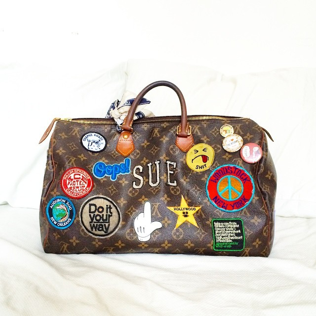 Sue Williamson's LV Bag