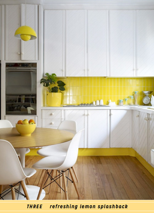 DO: Decorate With Yellow In The Kitchen
