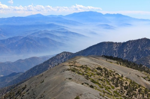 Mt. Baldy. I will hike you this spring. Only for the chance to lay my eyes on this splendor.  Image credit: californiathroughmylens.com
