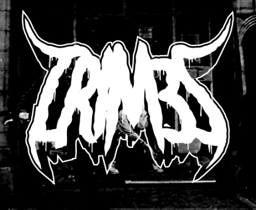 Been listening to a lot of CRIM3S and drawing black metal logos. Here's a CRIM3S black metal logo :)