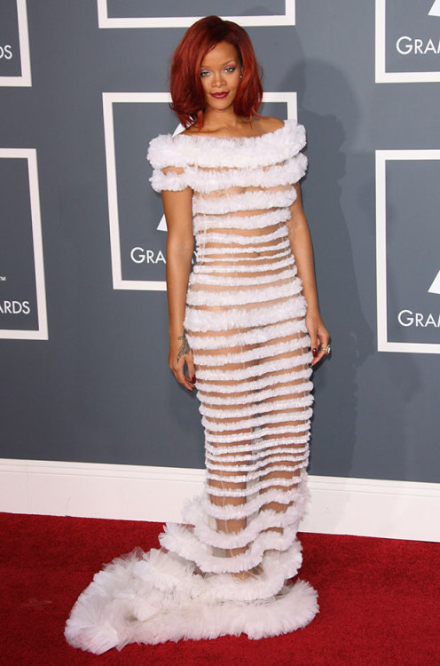 You may be surprised by the Grammy Award's strict, new dress code: http://bit.ly/WCZK7M