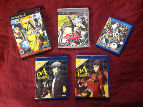 My Persona 4 collection!