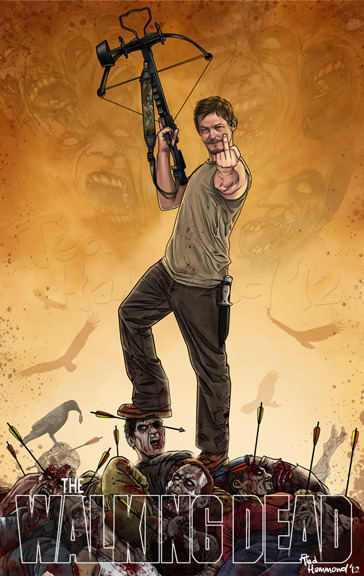 tallanvor1834:  Daryl Dixon…Super badass! by ~ted1air