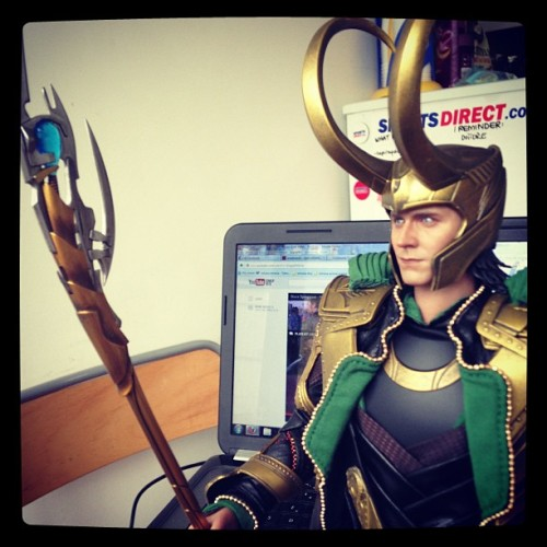 And now it's complete! <3 #loki  (at Home Sweet Home :))