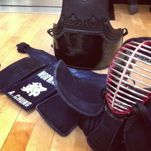 It's been so long…it's time to come back. #kendo