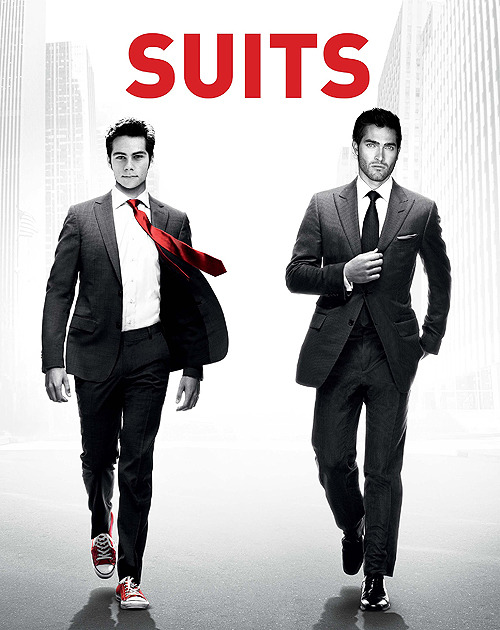 Hegexo asked: Teen Wolf + Suits Stiles as Mike and Derek as Harvey .