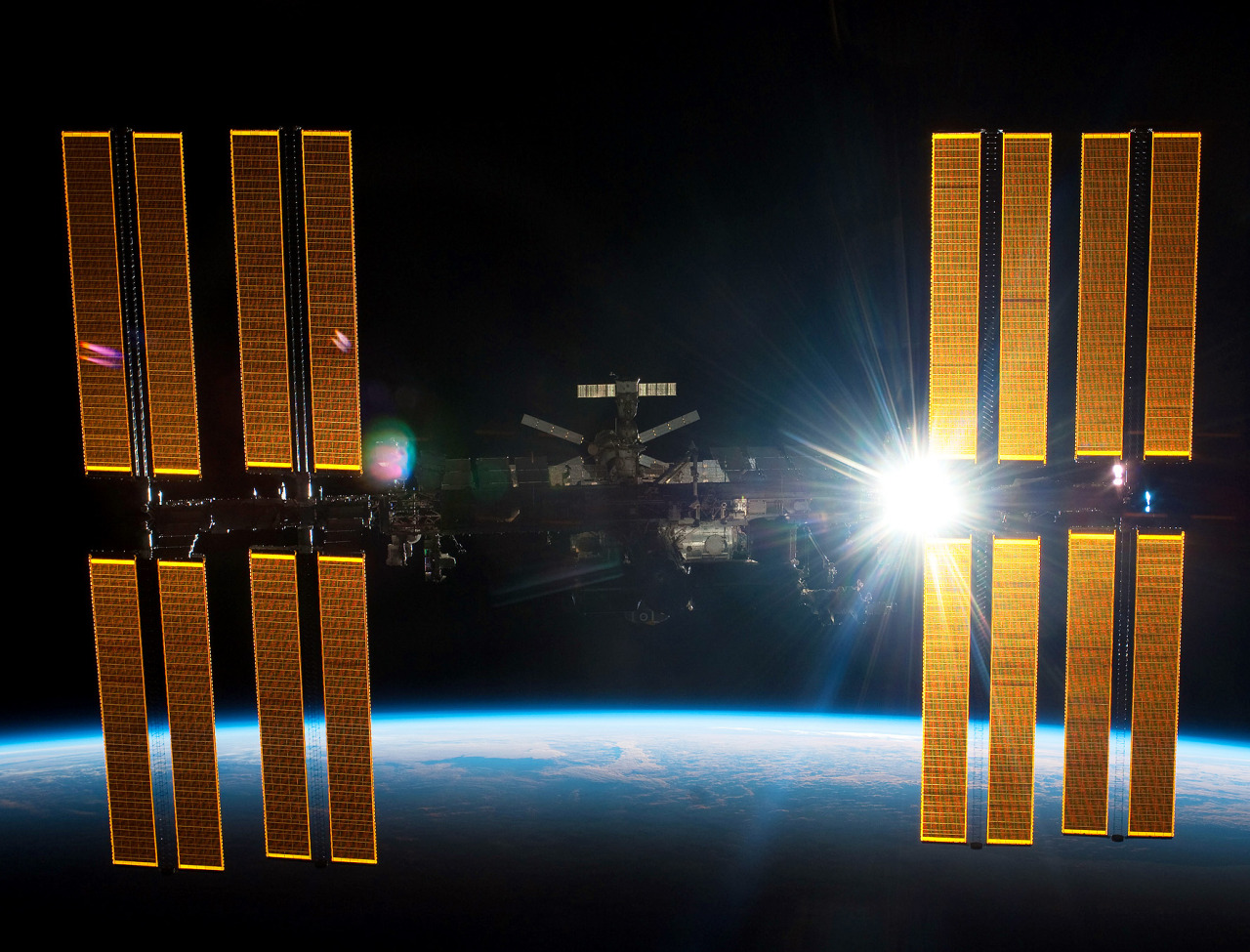 spaceplasma:  International Space Station Leaking Ammonia Coolant, NASA Says The International Space Station has a radiator leak in its power system. The outpost's commander calls the situation serious, but not life-threatening. The six-member crew on Thursday noticed white flakes of ammonia leaking out of the station. Ammonia runs through multiple radiator loops to cool the station's power system. NASA said the leak is increasing from one previously leaking loop that can be bypassed if needed. NASA spokesman Bob Jacobs said engineers are working on rerouting electronics just in case the loop shuts down. The Earth-orbiting station has backup systems. Space station Commander Chris Hadfield of Canada tweeted that the problem, while serious, was stabilized. Officials will know more Friday. The space station always has enough emergency escape ships for the crew, but there are no plans to use them.