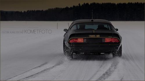 Bandit on ice by Patrik Karlsson 2002tii on Flickr.