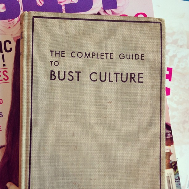 Found this book in a pile in Debbie's office. We do have our own culture around here! #bust (at Bust HQ)