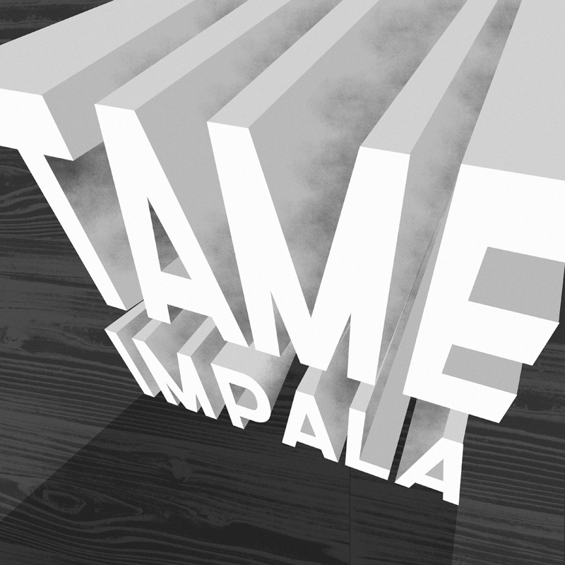 "betype:  Day 77 ""Tame Impala"" by Matt Chinworth (TypeSWAMP)"