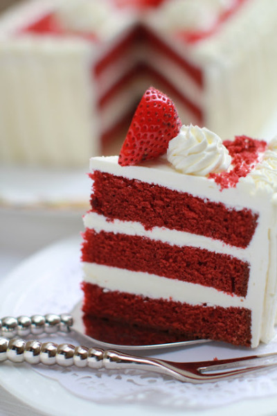 Deep RED Velvet CAKE Recipe