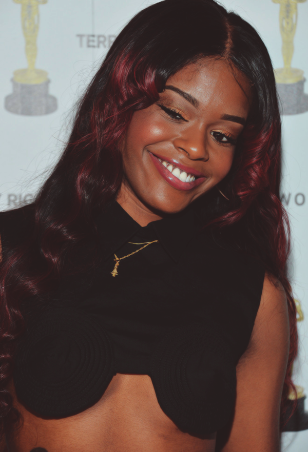 "azealiaxbanks:  Azealia Banks at the after party for the OHWOW & HTC celebration of the release of ""TERRYWOOD"" at The Standard Hotel & Spa in Miami Beach, Florida. (12-7-12) (3)"