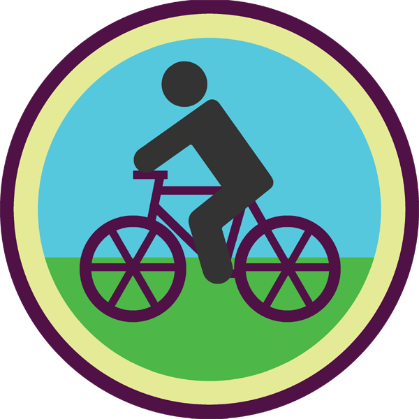lifescouts:  Lifescouts: Bike-Riding Badge If you have this badge, reblog it and share your story! Look through the notes to read other people's stories. Click here to buy this badge physically (ships worldwide). Lifescouts is a badge-collecting community of people who share their real-world experiences.