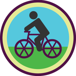 lifescouts:  Lifescouts: Bike-Riding Badge If you have this badge, reblog it and share your story! Look through the notes to read other people's stories. Click here to buy this badge physically (ships worldwide). Lifescouts is a badge-collecting community of people who share their real-world experiences.  My favorite bicycling experience happened a few summers ago. A bunch of us went down to Block Island for a long weekend to celebrate a friend's birthday. It's not a very big place, so most visitors take the ferry and bring or rent bikes. We spent our days lying on the beach, playing in the ocean, and riding from one end of the island to the other. (Well, and eating good food and drinking. We were celebrating, okay?) Despite being a smallish island, it has some surprisingly steep hills. We felt accomplished when we made it to the tops and delighted in flying back down. At the end of every day, we were tired and sandy and usually a little tipsy. It was pretty darn great.