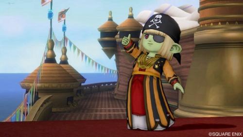 海賊スタイルだ